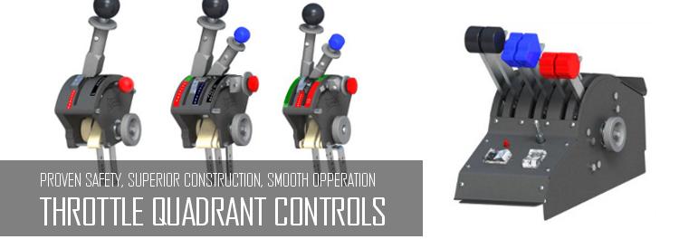 Aircraft Throttle Quadrants