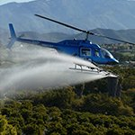 Kawak Aviation Bell 206 Longranger aerial agriculture auxiliary hydraulic spray system