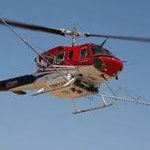 Kawak Aviation bell 212 and 412 auxiliary hydraulic power system