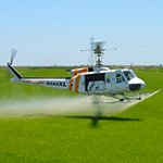 Kawak Aviation bell UH-1H aerial agriculture auxiliary hydraulic spray system
