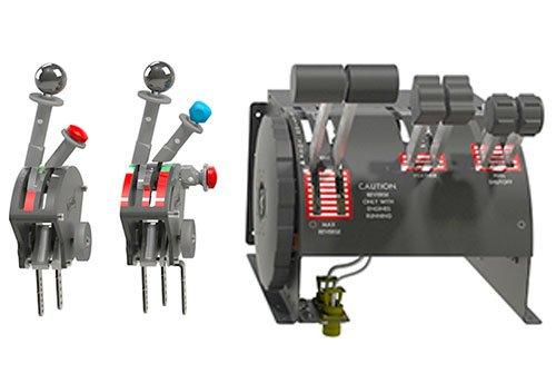 Kawak Aviation Aircraft Throttle Quadrants